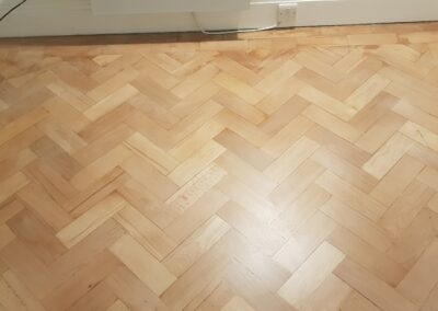 Bedroom Wood Floor Sanding Finished