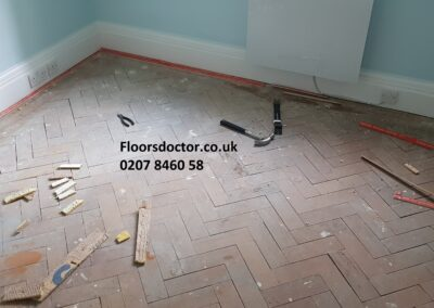 Dustless Wood Floor Sanding Before .