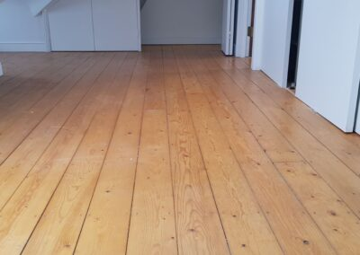 Wood Sanding Before Islington